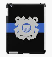 Coast Guard Thin Blue Line iPad Case/Skin