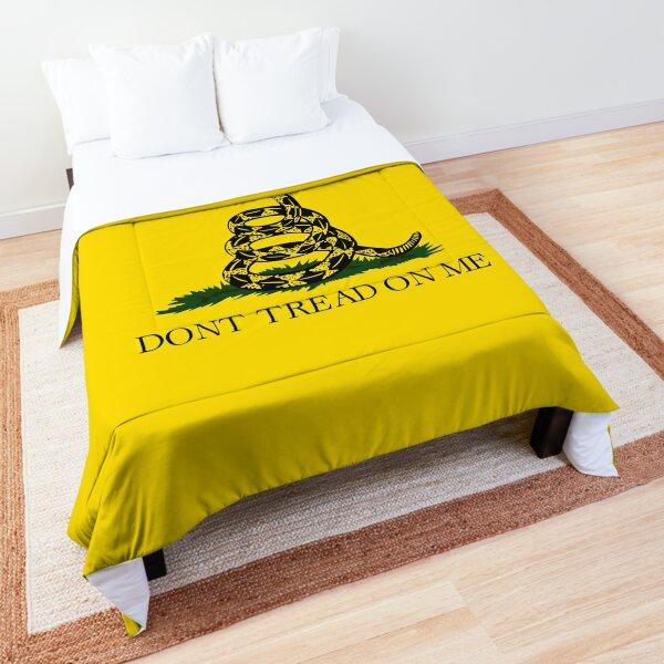 Gadsden flag Don't tread on me Libertarian 2nd amendment 2A yellow flag HD HIGH QUALITY ONLINE STORE Comforter