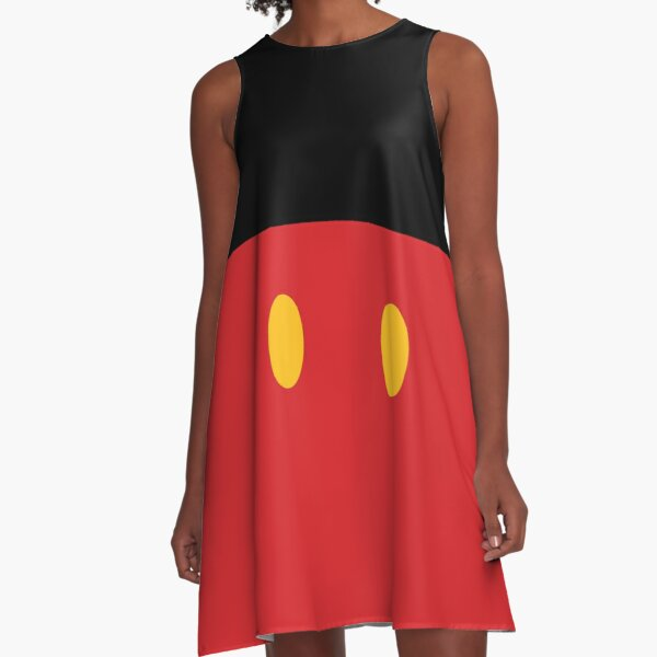 It All Started with Three Circles - Shorts A-Line Dress
