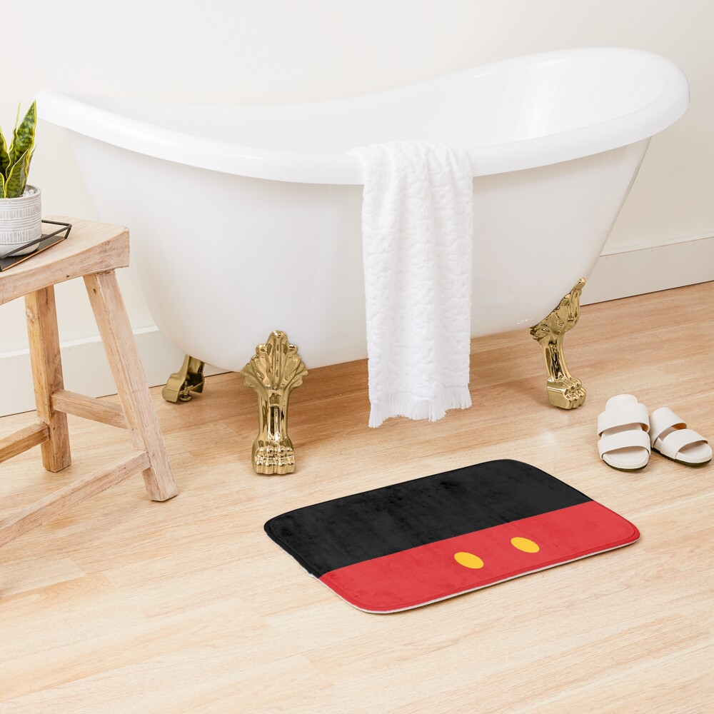 It All Started with Three Circles - Shorts Bath Mat