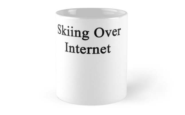 Skiing Over Internet  by supernova23