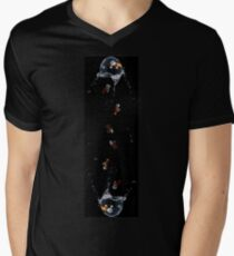 Rebel Rain Mens V-Neck T-Shirt