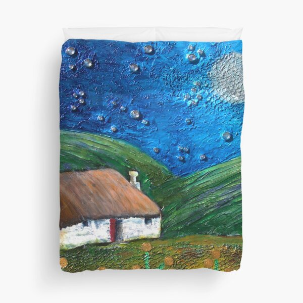 The Wee Bothy Duvet Cover