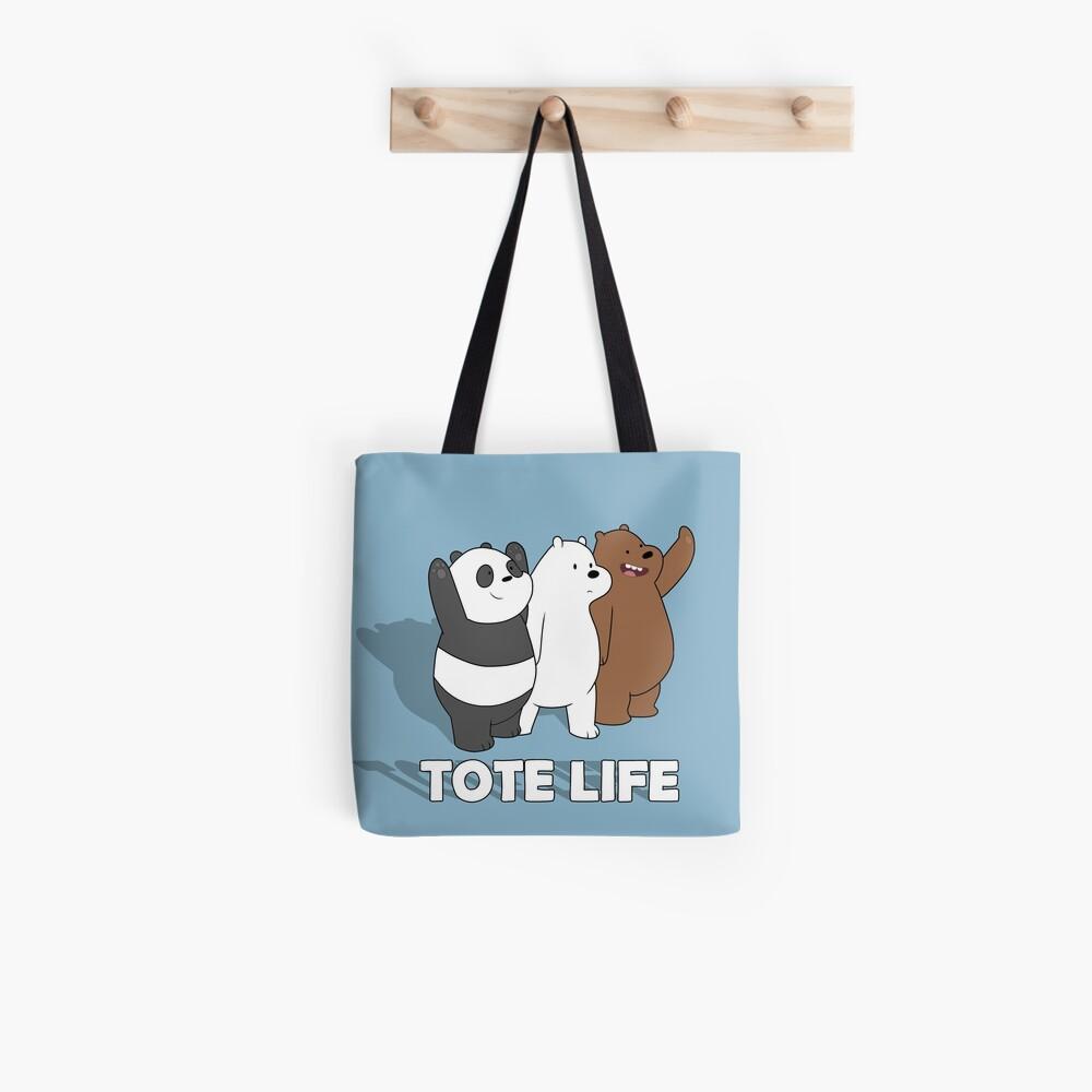 We Bare Bears - Tote Life Tote Bag