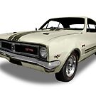 Holden - 1969 GTS Monaro - White by axemangraphics