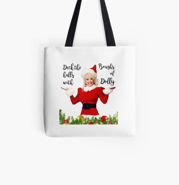 Dolly Christmas All Over Print Tote Bag