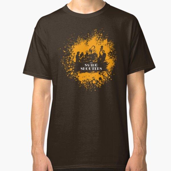 Swing Shouters - Peinture Orange T-shirt classique