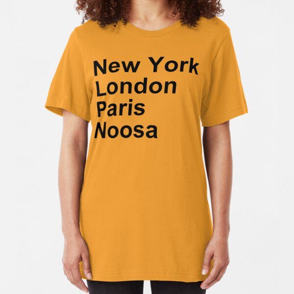 New York London Paris Noosa Slim Fit T-Shirt