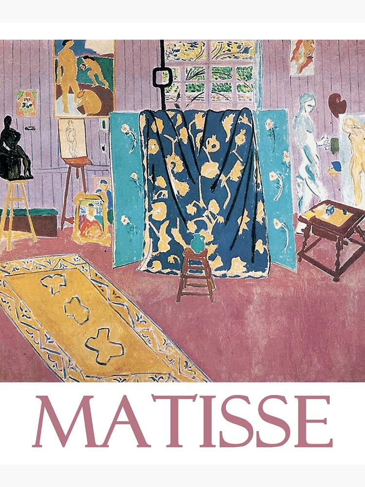 The Pink Studio (1911) by Henri Matisse by Chunga