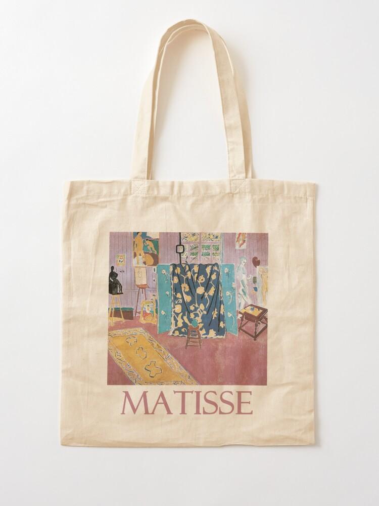 Alternate view of The Pink Studio (1911) by Henri Matisse Tote Bag