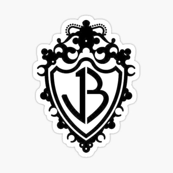 JB BLACK LOGO Sticker