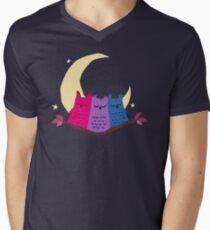 Bisexuels T-Shirt mit V-Ausschnitt für Männer