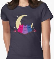 Bisexuowls Women's Fitted T-Shirt