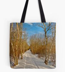 Dance of the Silver Birches IV Tote Bag
