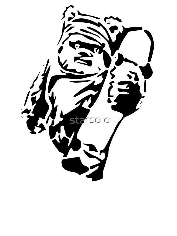 Quot Jawa Skateboarder Stencil Quot Stickers By Starsolo Redbubble