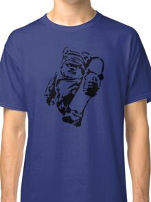 Jawa Skateboarder Stencil Classic T-Shirt