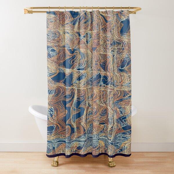 Lines PL01 Shower Curtain