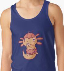 Halloween Axolotl - Pumpkin! Tank Top