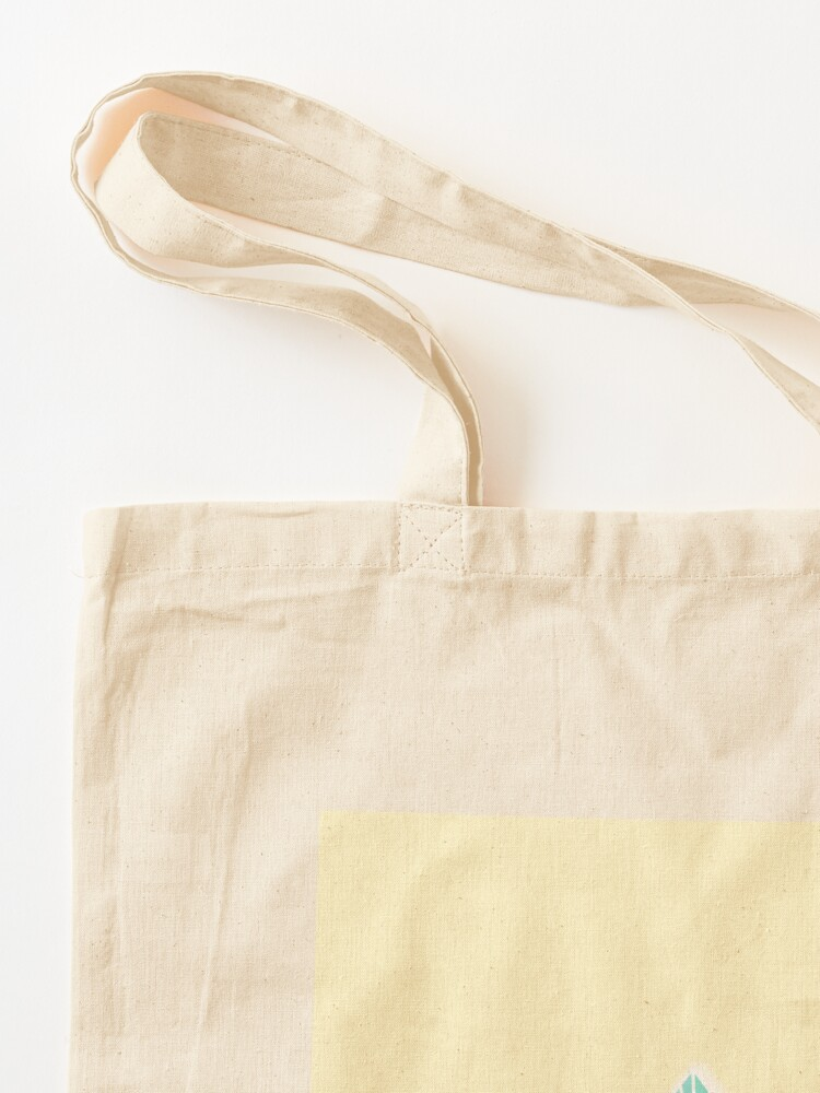 Alternate view of Crystals Yellow Tote Bag