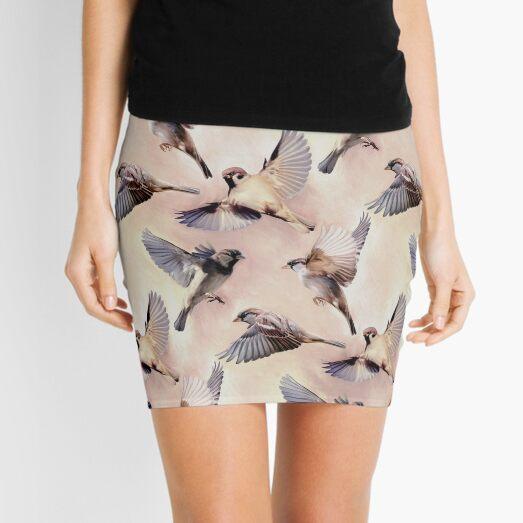 Sparrow Flight Mini Skirt