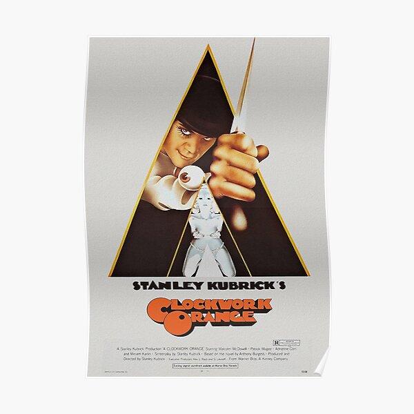 Art mécanique orange Poster