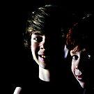 Lewis and Dan 3 by David  Howarth