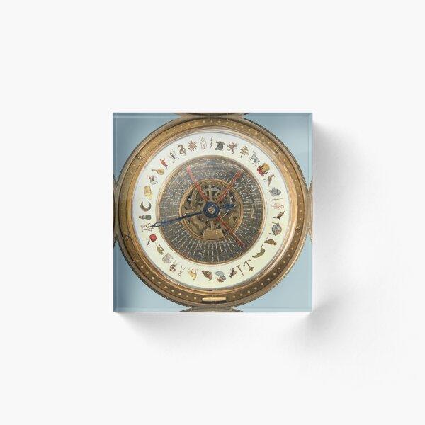 Golden Compass Alethiometer  Acrylic Block