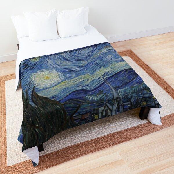 La noche estrellada de Vincent van Gogh Colcha