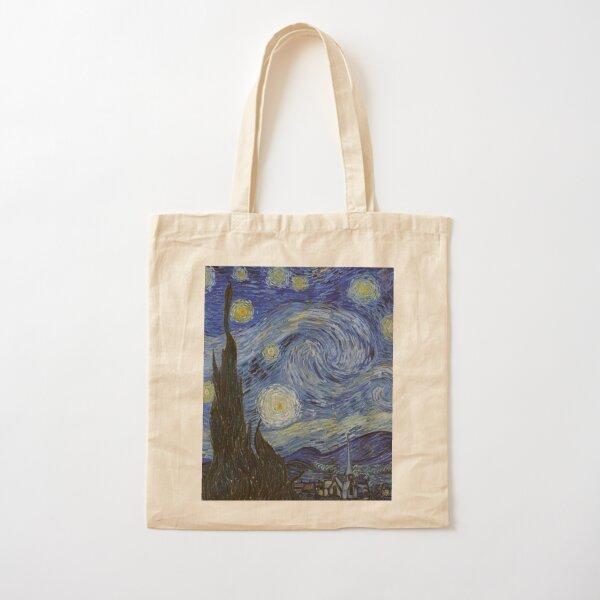 La nuit étoilée Vincent Van Gogh Tote bag classique