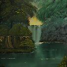 Hidden Water Fall by towncrier