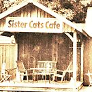 """Sister Cats Cafe""... prints and products by Bob Hall©"