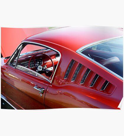Mustang Angles Poster