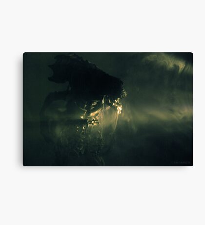Angry Queen Canvas Print