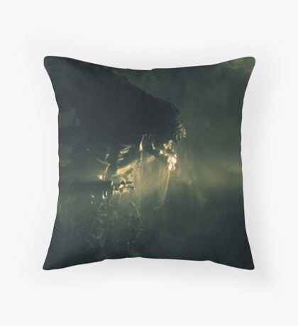 Angry Queen Throw Pillow