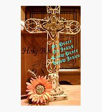 Know Jesus, Know Peace Photographic Print