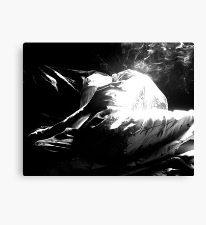 Through a Haze Canvas Print