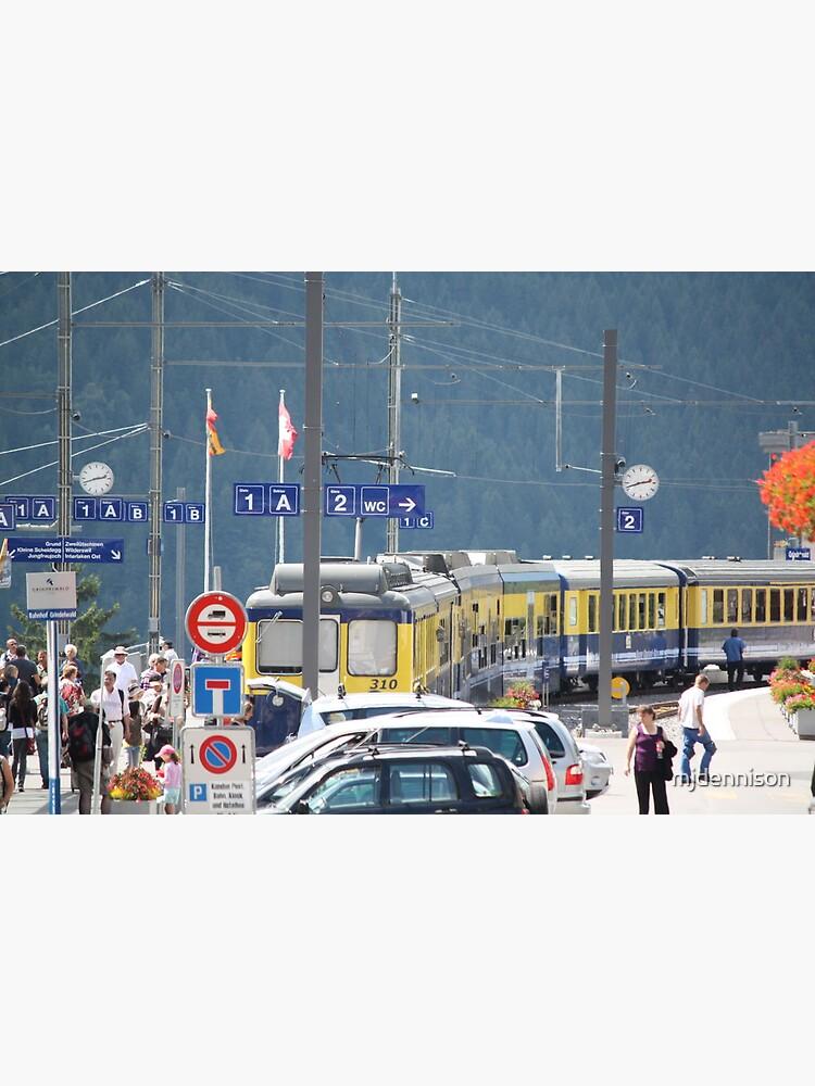 Grindelwald Station by mjdennison
