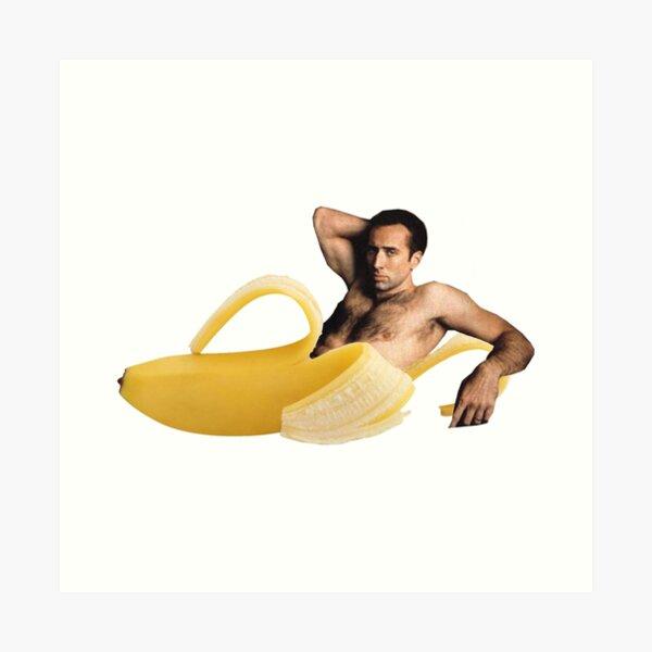 Banana Cage Art Print