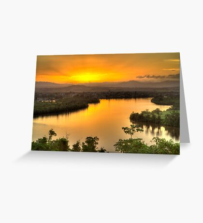 Coquette Point Sunset - Nth Qld Greeting Card
