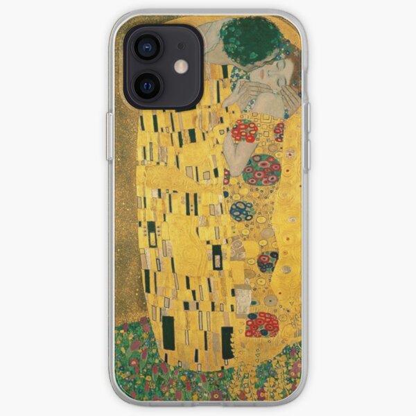 The Kiss Gustav Klimt iPhone Soft Case