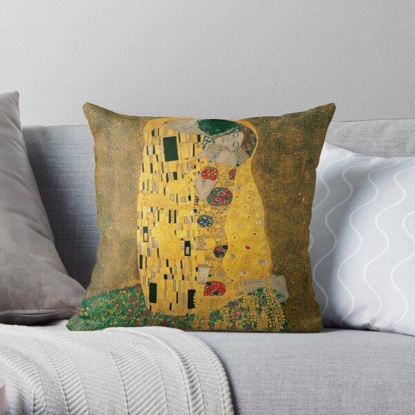 Le baiser Gustav Klimt Coussin