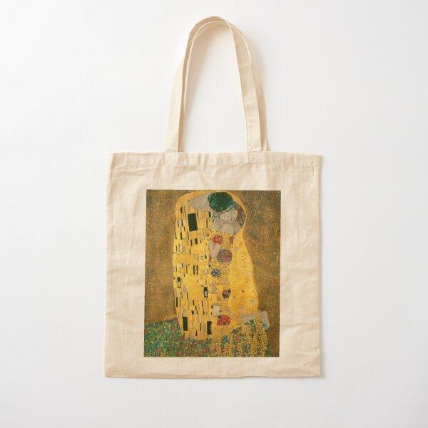 The Kiss Gustav Klimt Cotton Tote Bag