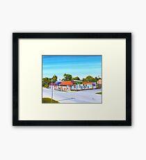 Planet Follywood, Folly Beach, SC Framed Print