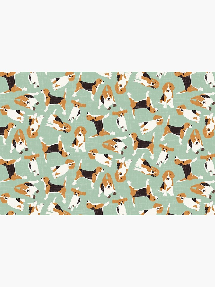 beagle scatter mint by scrummy