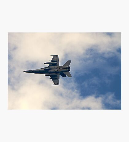 RAAF F-18 Fighter Photographic Print
