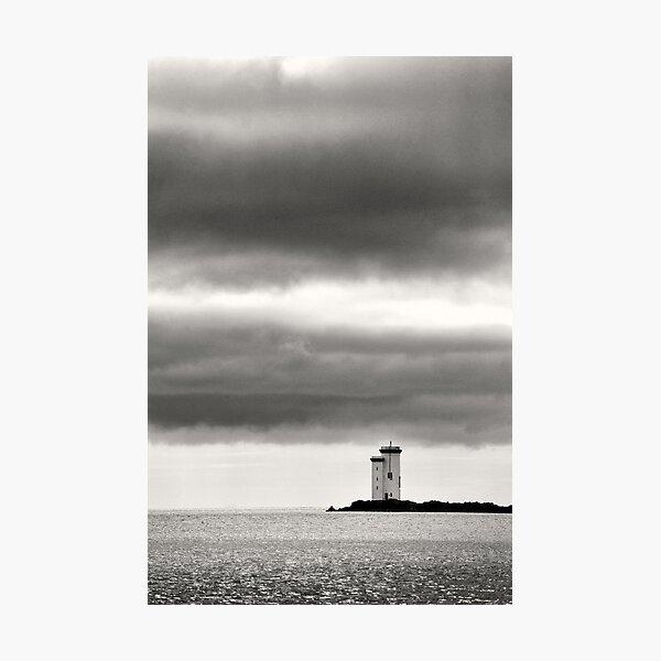 Carraig Fhada Lighthouse - Islay, Scotland Photographic Print