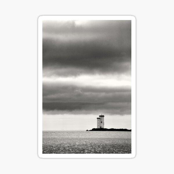 Carraig Fhada Lighthouse - Islay, Scotland Sticker