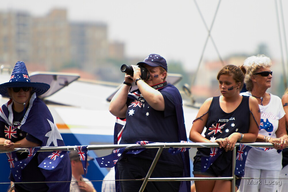 Quintessential  - Australia Day 2011 by Mark  Lucey