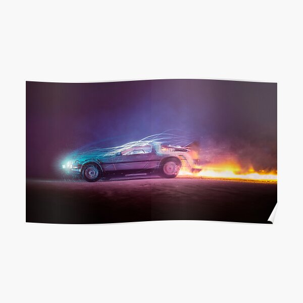 Back to the Future Art Poster