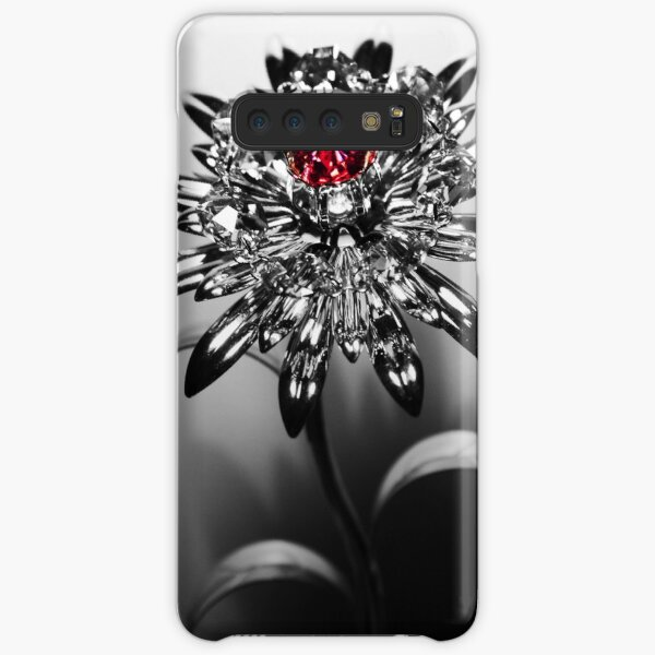 Swarovski Crystal Flower [2] Samsung Galaxy Snap Case